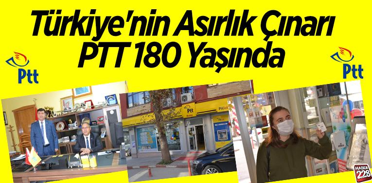 PTT 180 YAŞINDA