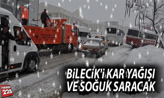 BİLECİK'E KAR YAĞIŞI GELİYOR!